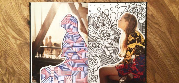La tecnica del collage e il lavoro autobiografico